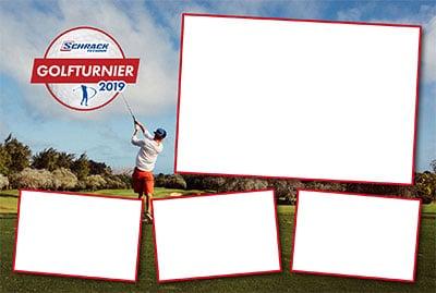 Schrack Technik Golfturnier Fotobox 2019